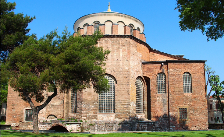Aya Irini Kilisesi (Hagia Irene Church)