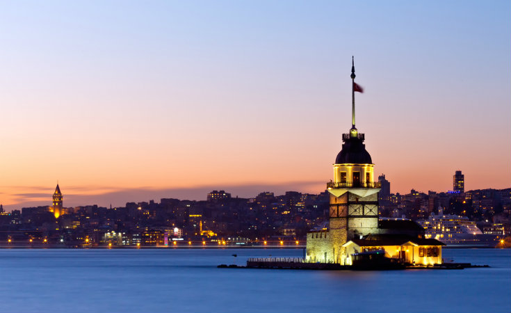 Historical towers of Istanbul