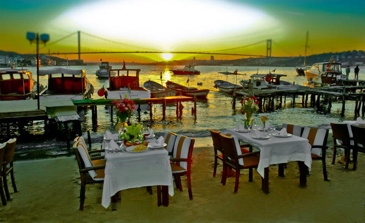 The Villa Bosphorus Fish Restaurant