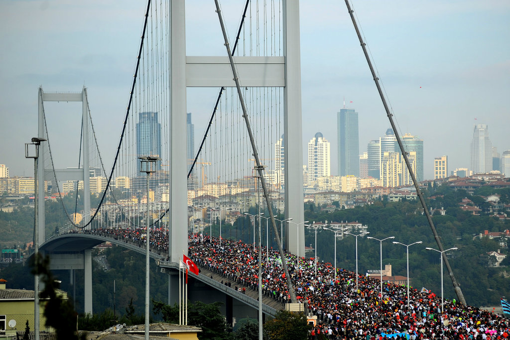 40th Intercontinental Istanbul Eurasia Marathon