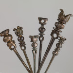 A group of Urartian pins. Bronze. 8th-7th c. BC.