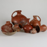 A group of Urartian potteries. Terracotta. 8th-7th c. BC