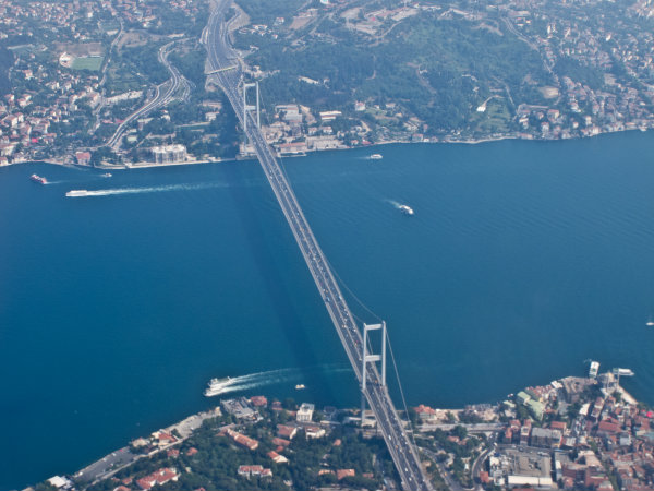 Crosscontinental Bridges of Istanbul