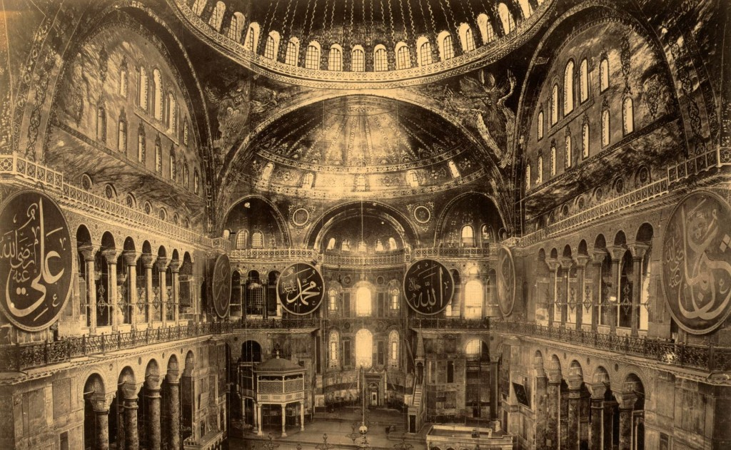 A Magic Touch at the Hagia Sophia