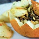 Stuffed Melon recipe from Chef Kadir Yılmaz, The Matbah Restaurant