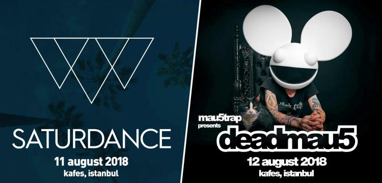 Saturdance X Mau5trap Presents Deadmau5